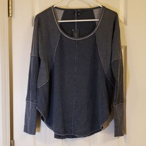 Lucky Brand Light Weight Sweater Blue